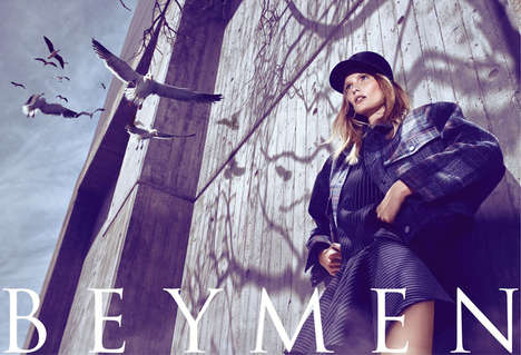 Hitchcockian Fashion Ads - The Beymen Fall 2013 Campaign Stars a Dramatic Katrin Thormann