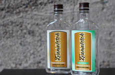 Tobacco-Flavored Vodkas - This Tobacco & Menthol Vodka Would Make Unusual Vodka Drinks