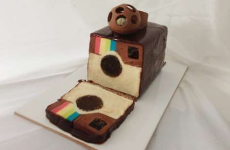 Social Sharing Suprise Cakes - An Instagram Dessert Chocolate Mousse is a Photo-Worthy Creation
