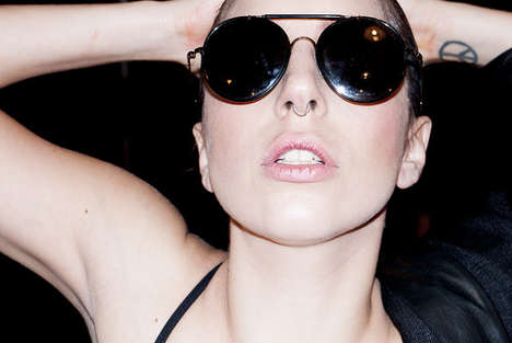 Backstage Diva Photography - Terry Richardson Photographs Lady Gaga Before Her Transformation