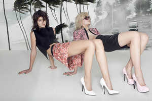 The 'I Love Fake SS 2013' Shoot is All About Retro Glam Fashion