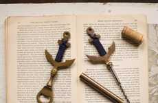 Nautical Bottle Openers - The Anchor Bottle Opener Has a Stylish Nautical Design