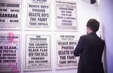 Fantasy Concert Lineup Exhibits