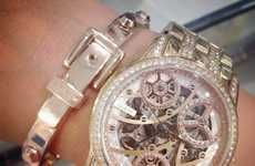 The Guess 'Elegant Automatic Watch' Merges Style and Extravagance