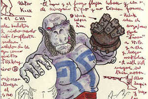 Guillermo Del Toro Sketches from His Personal Sketchbook