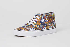 The Kenzo x Vans Fall 2013 Collection is Eclectically Colorful