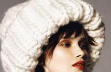 Oversized Winterwear Editorials