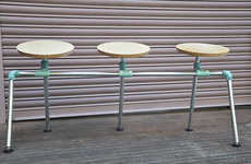 Iconic Song-Inspired Seating - Sit Furnishings Creates Stools and Chairs with a Retro Flair