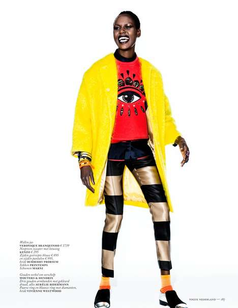 Pop Art-Inspired Fashion - The Vogue Netherlands