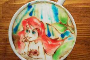 Barista Yuuichi Ito Creates Vibrant Foam Paintings for Coffee Drinkers