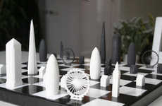 London Skyline Chess Sets - This Kickstarter Project Sees City Rivalries Duke it out Over Chess