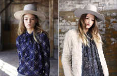 Hipster Country Girl Lookbooks - The Ulla Johnson Fall Collection is Conservative and Chic