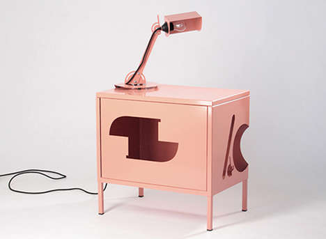 Customized Furniture Artwork - Samuel Treindl Turns IKEA Furniture into Something More