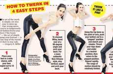 Celeb-Inspired Twerking Guides - This Twerking How-To Provides Insight into the Controversial Move