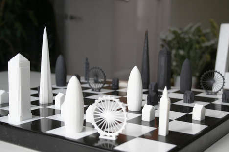 London Horizon Board Games - Skyline Chess Reimagines the Rook with Big Ben