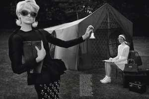 This Vogue Italia September 2013 Shoot is Full of Outdoor Glamour