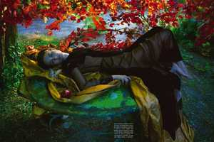See the Story of Adam and Eve in this Camilla Akrans Vogue Italia Shoot