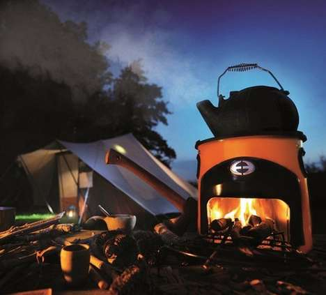 Earth-Saving Eco-Stoves - The Envirofit Rocket Stove is a Lightweight, Long-Lasting Eco-Stove