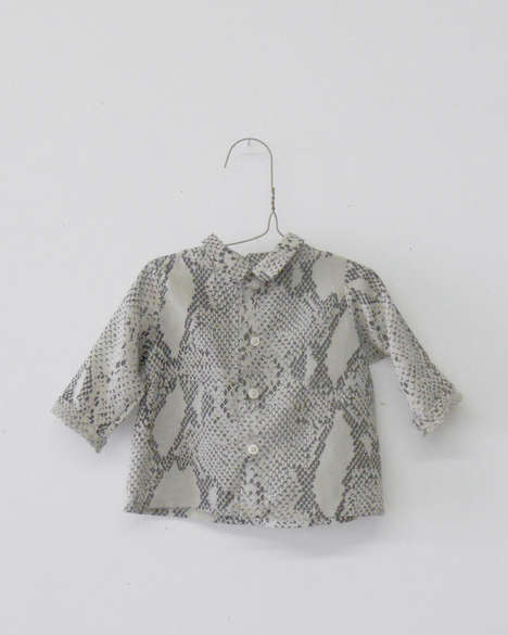 Sophisticated Infant Garments - Wolfechild's Sophisticated Baby Clothes Feature Grown-Up Detailing