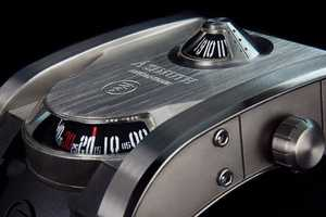 This Azimuth Watch Imitates Tanks to Intimidate Viewers