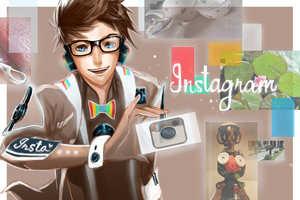 Jon Lock Imagines Social Media Sites as Human Characters