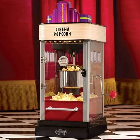 Vintage Hollywood Popcorn Makers - Cindy Lim Offers a Taste of the Cinema Right At Your Fingertips