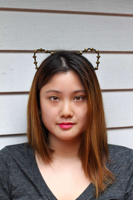 DIY Studded Cat Ears