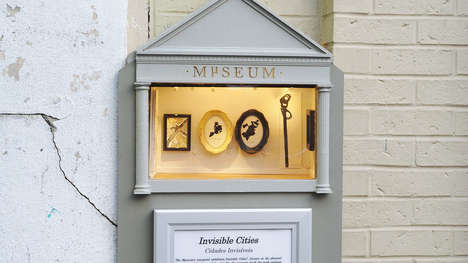 Ridiculously Tiny Museums - Somerville, MA Mayor Joseph Curtatone Unveiled the Minuscule Museum