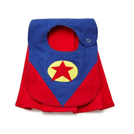 Heroic Baby Bibs - This Adorable Superhero Bib Comes Complete with Its Own Mini Cape