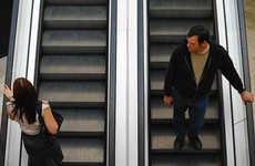 Unsuspecting Escalator Photography