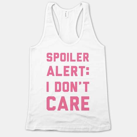 Grumpy Sleeveless Shirt Designs - These Sassy Tank Tops from Human Show you Could Not Care Less
