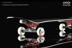 IXO Skateboards Combine Luxury with Sport