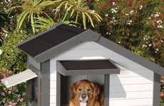 Miniature Dog Cottages - The 'Cozy Cottage Dog House' Lets Your Dog Live the American Dream