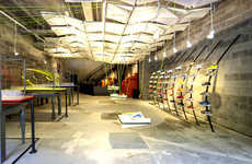Recycled Material-Built Stores