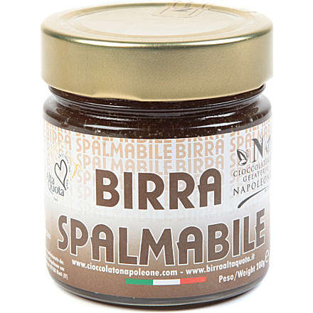 Alcoholic Chocolate Spreads - Omid Spreadable Beer Lets You Have Booze for Breakfast