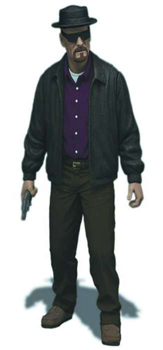 Heisenberg Action Figure