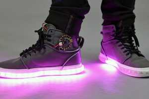 Light Up Sneakers Will Jolt Up Your Ensemble with Electricity