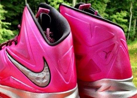 Fuchsia Charity Footwear  - The Lebron X