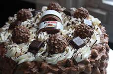 Decadent Hazelnut Hybrid Desserts