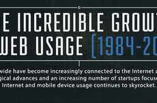 1984-2013 Has Seen Incredibly Impressive Growth in Web Usage