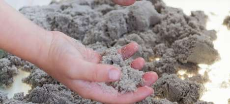 Malleable Kinetic Sand Formulas - This Sculpting Sand Changes the Way People See the Substance