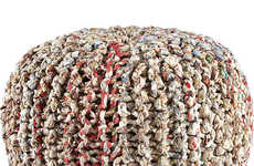 Sustainably Woven Seating