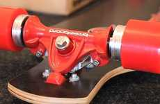 Brake-Equipped Longboards