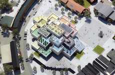 Interactive Toy-Built Museums - Denmark's LEGO Museum Will Be Designed with Thousands of Blocks