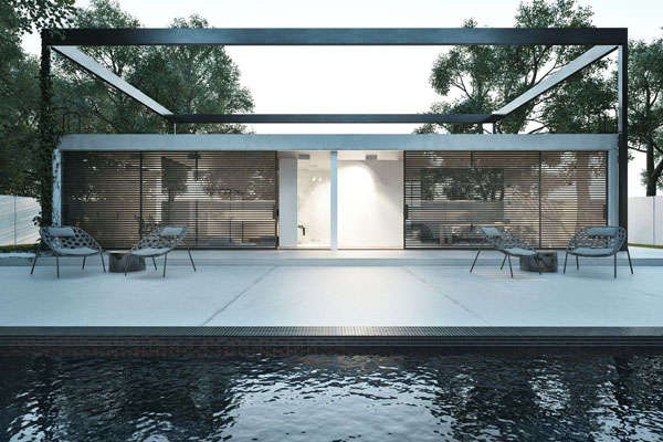 100 ultra modern home designs for Ultra minimalist house