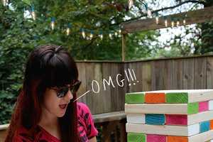 Blog 'A Beautiful Mess' Teaches You How to Build Your Own Giant Jenga