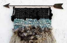 Tribal Textural Woven Art