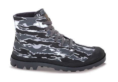 Rugged Rubber Camo Boots - Pharrell Williams of BBC and Palladium Team Up to Create a Great Shoe