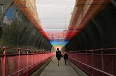 Multi-Colored Stringed Bridges
