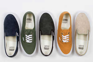 Vans Recently Releases Mis-Matched Shoes in a Collaboration Collection